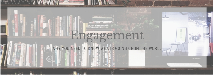 Engagement: Why You Need to Know More About the World Then What Happened on the Walking Dead Last Night