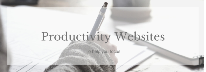 Productivity Websites