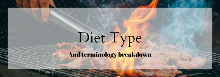 """Diet"" Type Terminology"