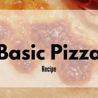 Basic Pizza Crust Recipe