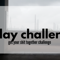 The 31 Day Get Your Shit Together Challenge