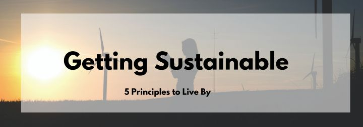 Five Principles of Getting Sustainable