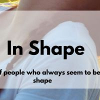 Habits of People who always seem like they are in shape